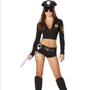 Sexy Police Officer Costume Yandy Size Small